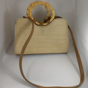 Fossil purse with shoulder strap